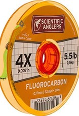 Scientific Anglers Fluorocarbon Tippet - 4X 30M