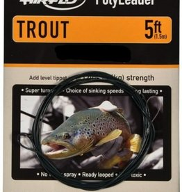 Airflo POLYLEADER FAST SINK 5' LIGHT TROUT