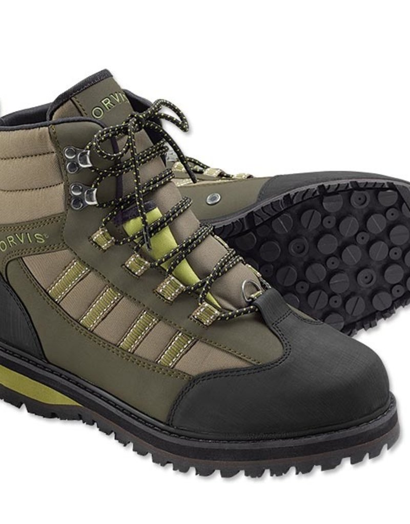 Orvis ENCOUNTER WADING BOOT RUBBER TN/OL 13