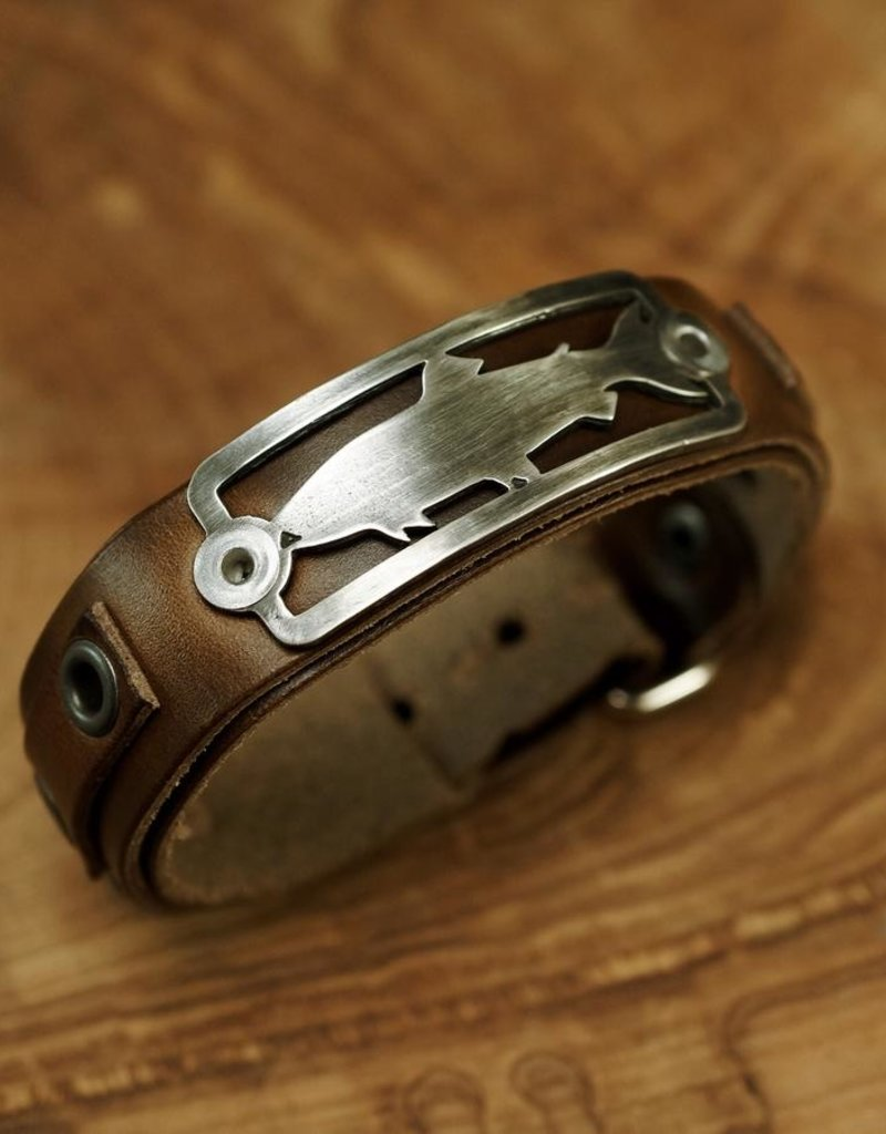 Sight Line Provisions Lost Cast Trout 2.0 Stargazer Horween Leather