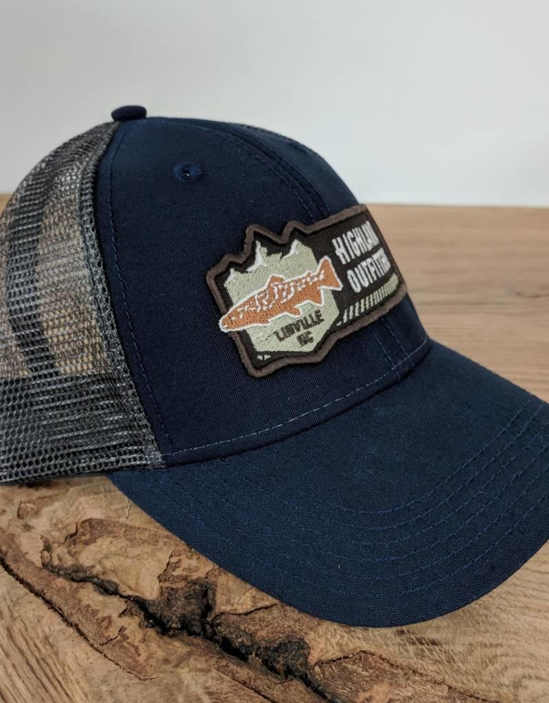 Highland Outfitters Highland Outfitters Logo Trucker