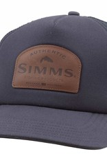 Simms Leather Patch Trucker
