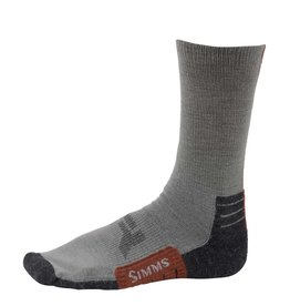 Simms Guide Lightweight Crew Sock Gunmetal