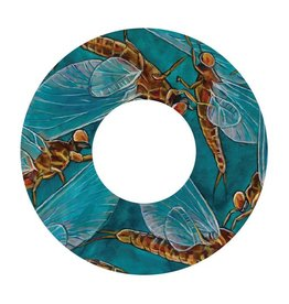 i.D 5/6 REEL DECAL MAYFLIES - UDESEN