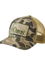 Retro Orvis Ballcap Camo Fisherman