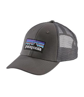 Patagonia Patagonia P-6 Logo LoPro Trucker Hat Forge Grey w/Forge Grey ALL