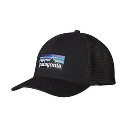 Patagonia Patagonia P-6 Logo Trucker Hat Black ALL