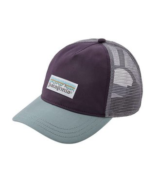 Patagonia Patagonia W's Pastel P-6 Label Layback Trucker Hat Piton Purple ALL
