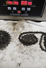 Spin City Cycles Service Ultrasonic Drivetrain Cleaning