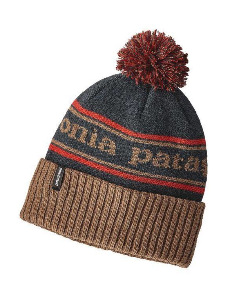 Patagonia Powder Town Beanie Park Stripe: Mojave Khaki ALL