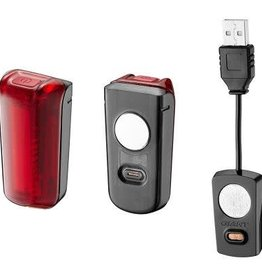 Giant P&A Light Giant Numen+ Link LED USB Taillight w. Jersey Attachment Black