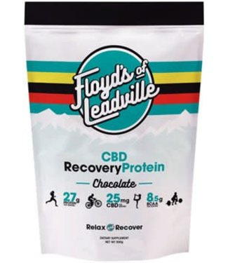 Floyd's of Leadville Floyd's of Leadville CBD Recovery Protein Powder: Isolate (THC Free) 250mg, Chocolate