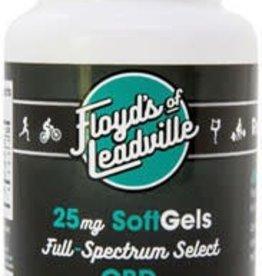 Floyd's of Leadville Floyd's of Leadville CBD Softgel: Full Spectrum, 25mg, Qty 30