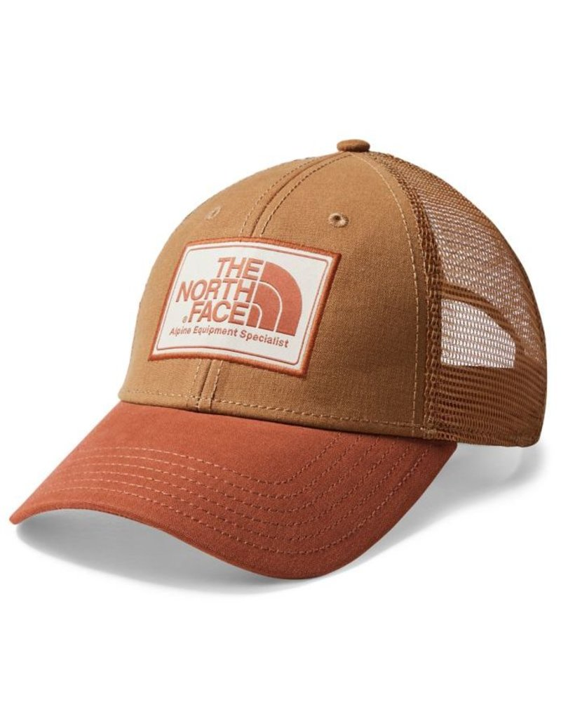 The North Face Hat TNF Mudder Trucker: Cargo Khaki/Gingerbread Brown OS