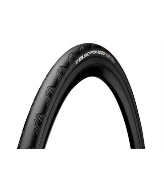 Continental Tire Conti GP 4000 S II 700 x 25 Black-BW + Black Chili