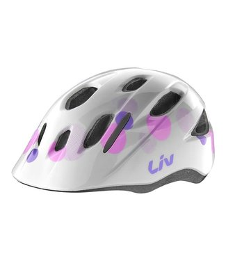 Liv Helmet Liv Musa Youth Helmet OSFM White Bubble (Bug Net)
