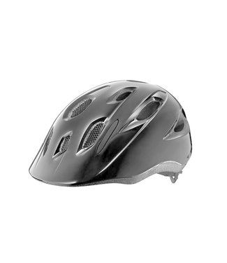Giant Helmet Giant Hoot Youth Helmet OSFM ARX Gloss Black (w/ Bug Net)