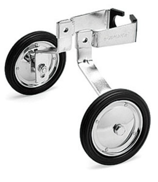 "Giant Training Wheels 16""-20"" Giant 100lbs Max Silver"