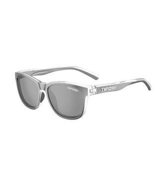 Tifosi Swank, Onyx Clear, Smoke Lens Sunglasses