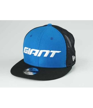 Giant Hat Giant New Era 9FIFTY Snapback Performance Trucker Blue