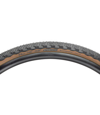 Teravail Tire Teravail Washburn - 700 x 38, Tubeless, Folding, Tan, Light and Supple