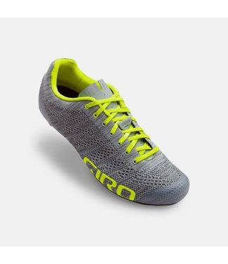 Giro Shoe Giro Empire E70 Knit Grey Heather/Highlight Yellow