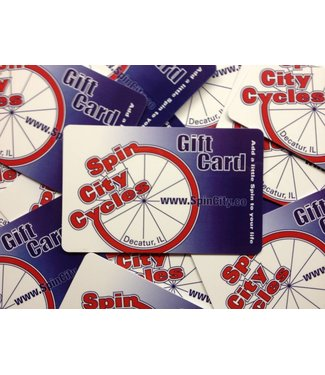 Spin City Cycles Gift Card