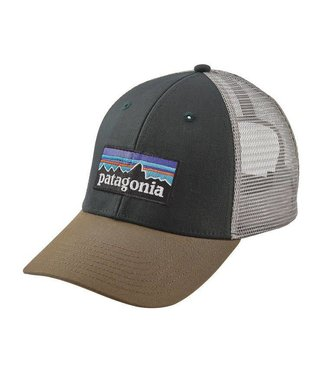 Patagonia Patagonia P-6 Logo LoPro Trucker Hat Carbon ALL