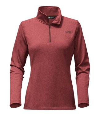 The North Face W TECH GLACIER 1/4 ZIP
