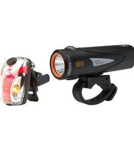 Light & Motion Light & Motion Combo Urban 500 Onyx + Vis Micro II