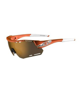 Tifosi Optics Tifosi Alliant, Matte Orange Brown/AC Red/Clear