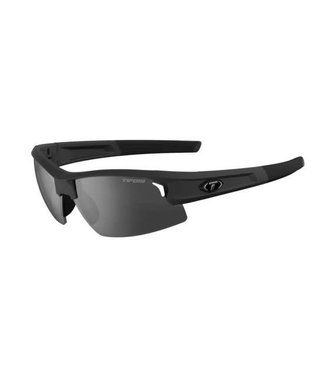 Tifosi Optics Tifosi Synapse, Matte Black Smoke/AC Red/Clear