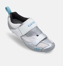 Giro Shoe Giro W Flynt Tri SILVER/WHITE/MILKY BLUE 39