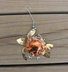 Loggerhead Sea Turtle Ornament