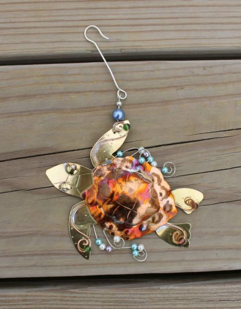 Loggerhead Sea Turtle Ornament