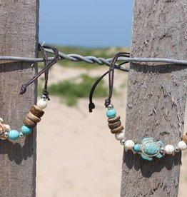 Howlite Adjustable Bracelet