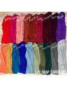 Snap Cardigans 1 Full Sleeve