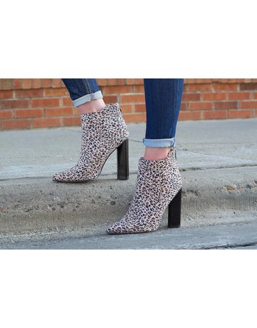 "Qupid Leopard 6"" Booties"