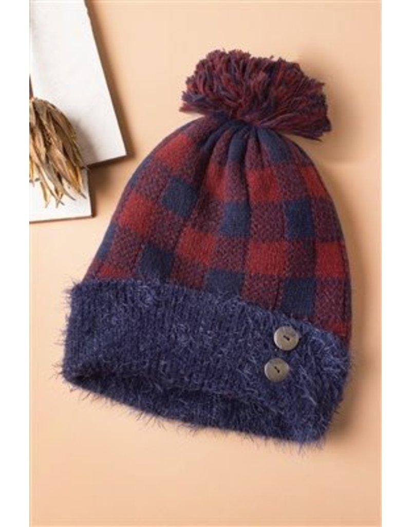 Buffalo Check Hat