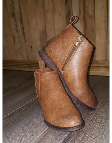 Tan Chelsea Ankle Bootie