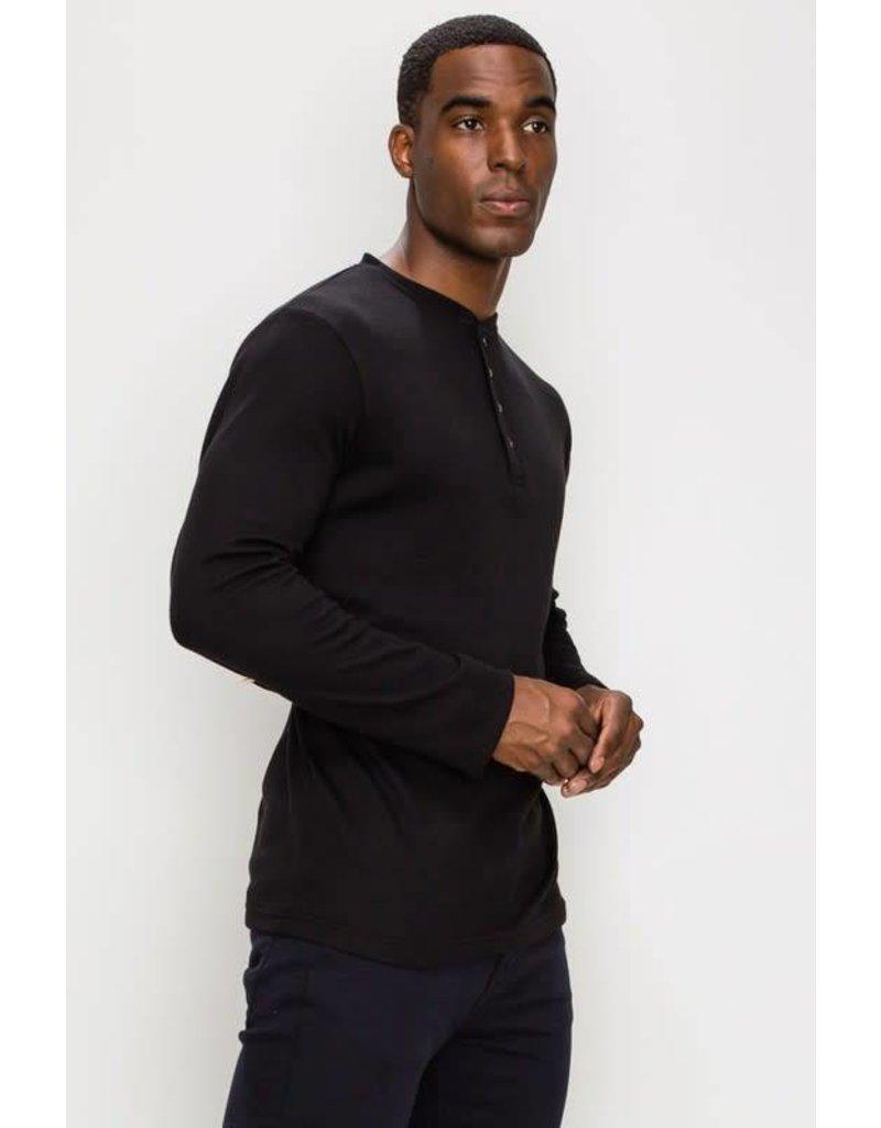 Long Sleeve Henley Shirt