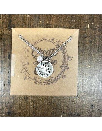 Create Hope Design Love You Latte Necklace