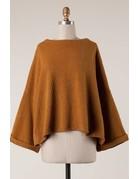 Drop Shoulder Wide Sleeve Sweater