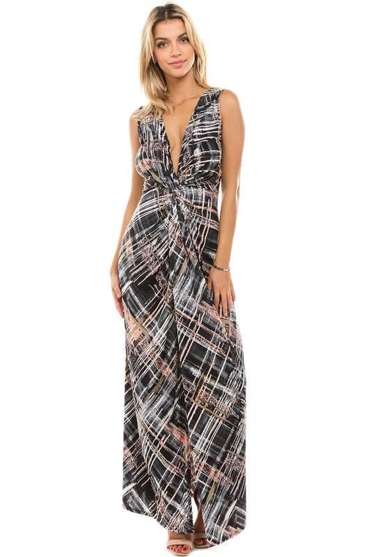 Knot Tank Maxi Dress