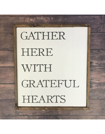 Cozy Timber CO. Gather Here With Grateful Hearts