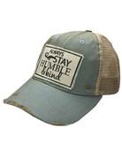 Mesh Back Graphic Cap