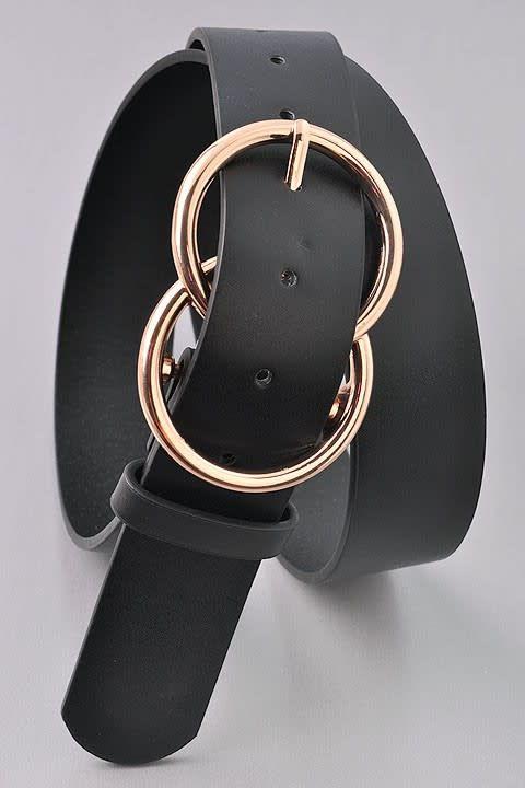 Double Loop Fashion Belt