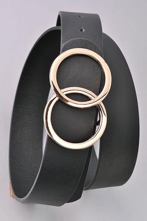 Overlay Hoop Fashion Belt