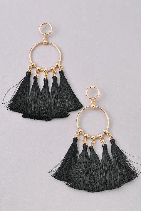 Multi Fringe Earring