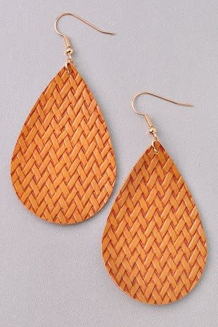 Basket Weave Earring